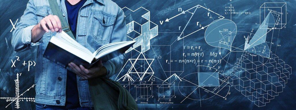 """物理にとって、数学とは""""言葉""""です。"""